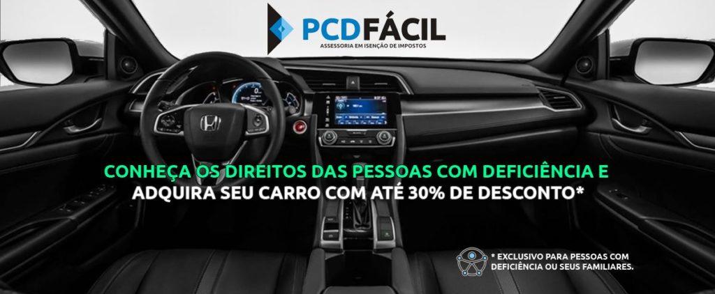 Conheça os direitos das pessoas com deficiência e adquira seu carro com até 30% de desconto.